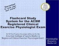 Flashcard Study System for the ACSM Registered Clinical Exercise Physiologist Exam