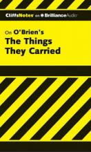 Cliffsnotes on O'Brien's the Things They Carried