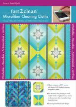 Fast2clean French Braid Quilt Microfiber Cleaning Cloths