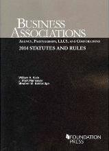 Business Associations Agency, Partnerships, Llcs, and Corporations: Statutes and Rules