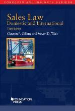 Sales Law, Domestic and International