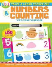 Trace and Learn Sticker Fun: Numbers and Counting