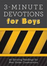 3-Minute Devotions for Boys