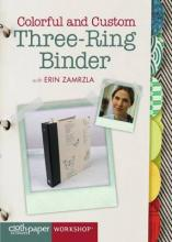 Colorful and Custom Three-Ring Binder