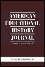 American Educational History Journal: Volume 42