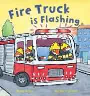 Fire Truck Is Flashing