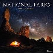 National Parks 2018 Wall Calendar