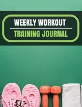 Weekly Workout Training Journal