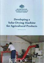 Developing a Solar Drying Machine for Agricultrual Products [Publication No
