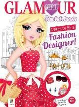 Learn To Be A Fashion Designer! Glamour Girl Sketchbook