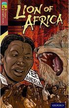 Oxford Reading Tree TreeTops Graphic Novels: Level 15: Lion Of Africa