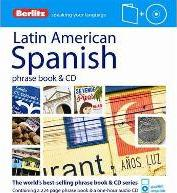 Berlitz Language: Latin American Spanish Phrase Book & CD