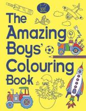 Amazing Boys' Colouring Book