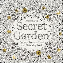 Popular Colouring And Painting Books Secret Garden