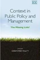Context in Public Policy and Management