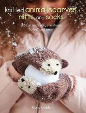 Knitted Animal Scarves, Mitts, and Socks