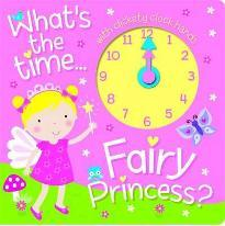 Fairy Princess Clock Book