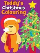 Christmas Colouring Teddy