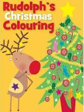 Christmas Colouring Rudolph
