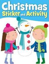 Snowman Christmas Sticker Activity