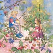 Forest Fairies Christmas Presents advent calendar (with stickers)