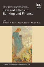 Research Handbook on Law and Ethics in Banking and Finance