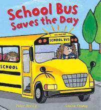 Busy Wheels School Bus Saves the Day