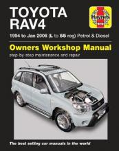 Toyota RAV4 Petrol & Diesel Service and Repair Manual: 1994 to 2006