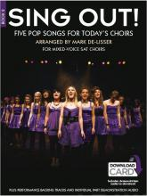 Sing Out] 5 Pop Songs for Today's Choirs - Book 2 (Book/Audio Download): Book 2
