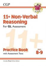 New 11+ GL Non-Verbal Reasoning Practice Book & Assessment Tests - Ages 8-9 (with Online Edition)