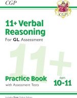 New 11+ GL Verbal Reasoning Practice Book & Assessment Tests - Ages 10-11 (with Online Edition)