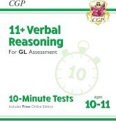 New 11+ GL 10-Minute Tests: Verbal Reasoning - Ages 10-11 (with Online Edition)