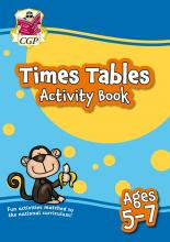 New Times Tables Activity Book for Ages 5-7: perfect for home learning