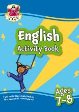 New English Activity Book for Ages 7-8: perfect for home learning