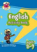 New English Activity Book for Ages 8-9: perfect for home learning