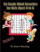 1st Grade Word Search for Kids Aged 4 to 6