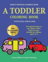 Simple Toddler Coloring Book