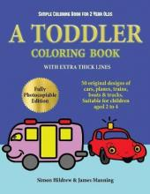 Simple Coloring Book for 2 Year Olds