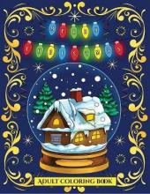 Adult Coloring Book (Christmas)