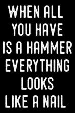 When All You Have Is a Hammer Everything Looks Like a Nail