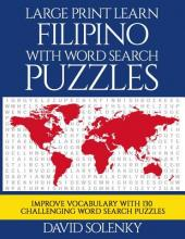 Large Print Learn Filipino with Word Search Puzzles