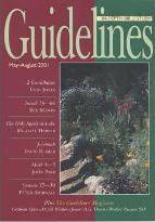Guidelines: May to August 2001