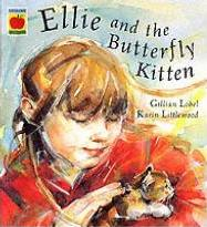 Ellie And The Butterfly Kitten