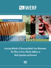 Assessing Methods of Removing Metals from Wastewater: The Effect of Ferric Chloride Addition