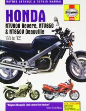 Honda NTV600 Revere, NTV650 and NTV650V Deauville Service and Repair Manual