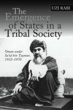 Emergence of States in a Tribal Society