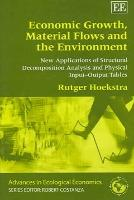 Economic Growth, Material Flows and the Environment