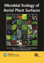Microbial Ecology of Aerial Plant Surfac