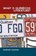 What is Quebecois Literature?