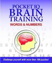 Pocket IQ Brain Trainer: Words and Numbers